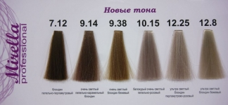 MIRELLA PROFESSIONAL Color Collection - краска для волос, 60 мл