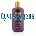 CHI Deep Brilliance Olive & Monoi Optimal Fugt Shampoo - Fugtgivende Shampoo, 355 ml