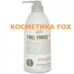 OLLIN Shampooing purifiant cheveux et cuir chevelu à l'extrait de bambou FULL FORCE, 750 ml.