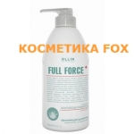 OLLIN Shampooing hydratant antipelliculaire à l'extrait d'aloès FULL FORCE, 750 ml.
