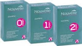 NOUVELLE Лосьон для завивки 0 (для жёстких волос) + нейтрализатор, 120+120 мл.