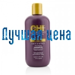 CHI Deep Brilliance Olive & Monoi Optimum Moisture Shampoo - Ўвільгатняе шампунь, 355 мл
