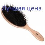 CHI Luksus Nylon og Boar Bristle Paddle børste - Hairbrush