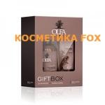 Dott.Solari Подарункова коробка шампунь 250 мл + маска з маслами баобаба і льону 200 мл