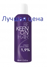 KEEN Cream Developer Cream-oxidizer 1,9%, 100 ml