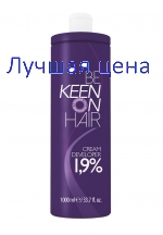KEEN Cream Developer Creme-oxidante 1,9%, 1000 ml