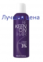 KEEN Cream Developer Cream-oxidizer 3%, 100 ml