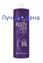 KEEN Cream Developer Cream-hapettimen 3%, 1000 ml