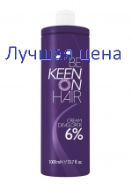 KEEN Cream Developer Cream-hapettimen 6%, 1000 ml