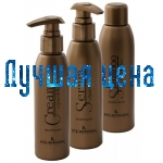 KLERAL Semi di lino Набор с маслом льна для восстановления волос