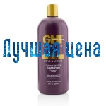 CHI Deep Brilliance Olive & Monoi Optimal Fugt Shampoo - Fugtgivende Shampoo, 946 ml