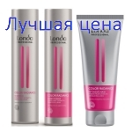 LONDA Professional KIT Color Radiance - Set for colored hair, 250ml + 250ml + 200ml