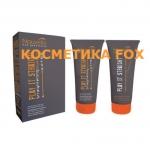 NOUVELLE Play It Straight Extra + Neutralizer Kit - Крем для распрямления нормальных и жестких волос + нейтрализатор (набор), 200+200 мл.
