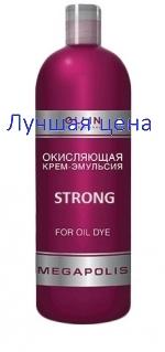 OLLIN Strong MEGAPOLIS Emulsion For Oil Dye - Окисляющая крем-эмульсия, 500 мл.