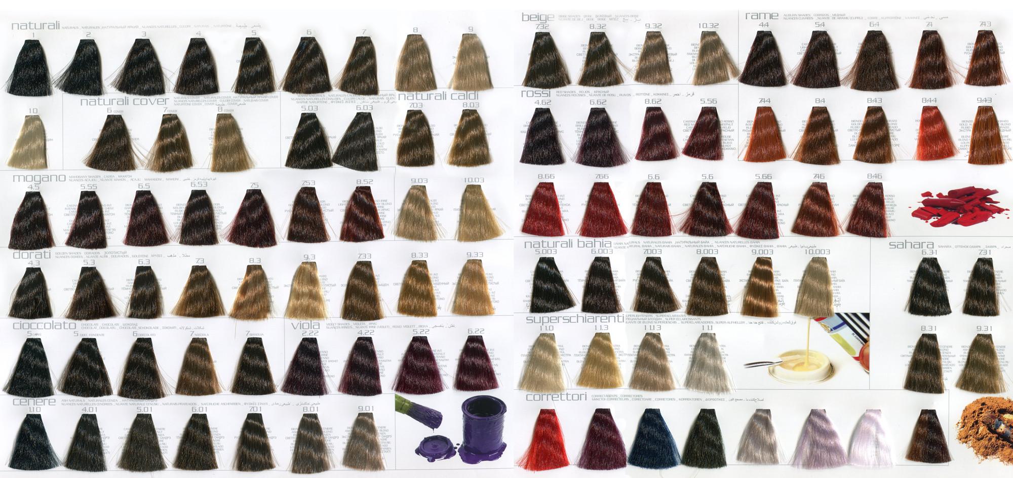 na-foto-pokazany-97-ottenkov-stoykogo-permanentnogo-krasitelya-włos-firma-włosy-światło-crema-coloran